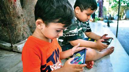 Smartphone addiction in kids and its prevention.